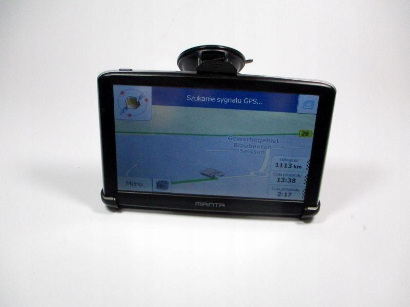 NAWIGACJA MANTA GPS9772 + UCHWYT + 2 ŁADOWARKI