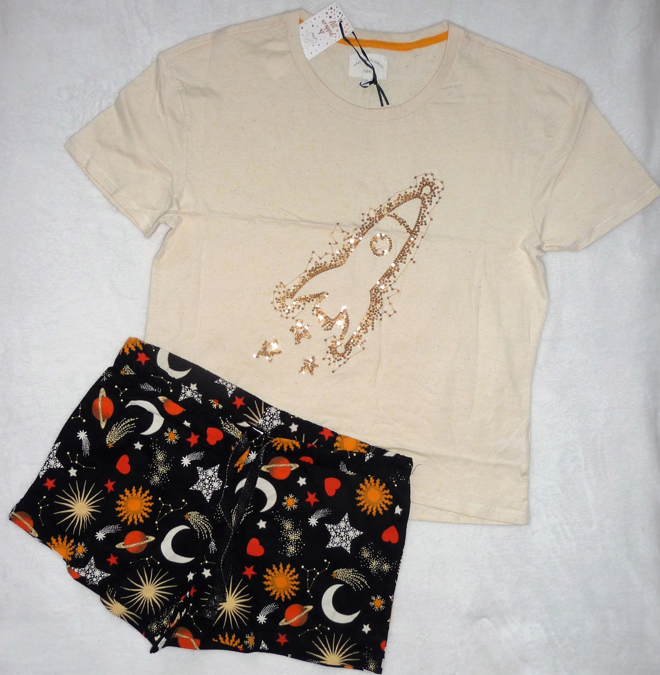 Next nowa piżama damska r. M