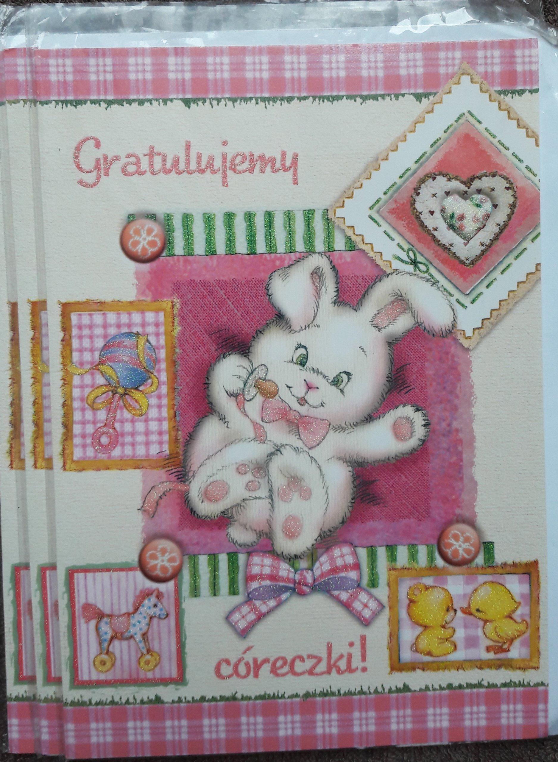Gratulacje z okazji narodzin córki
