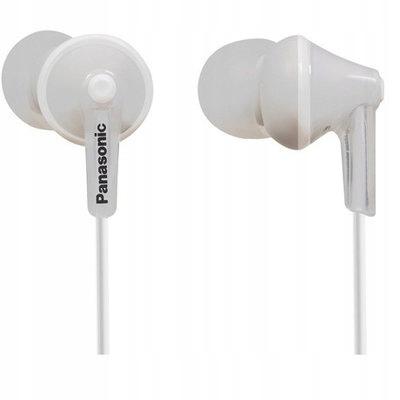 Słuchawki dokanałowe białe Panasonic dobra jakość