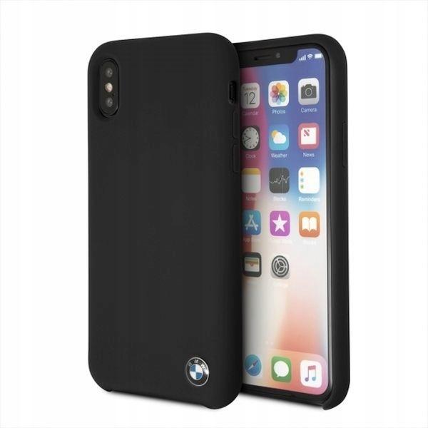 BMW Etui hardcase BMHCPXSILBK iPhone X czarny Sili