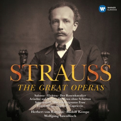 CD Strauss, R. - Great Operas Various/Karajan/Kemp