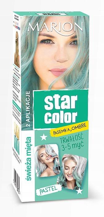 MARION Star Color Pastel 2x35 ml ŚWIEŻA MIĘTA
