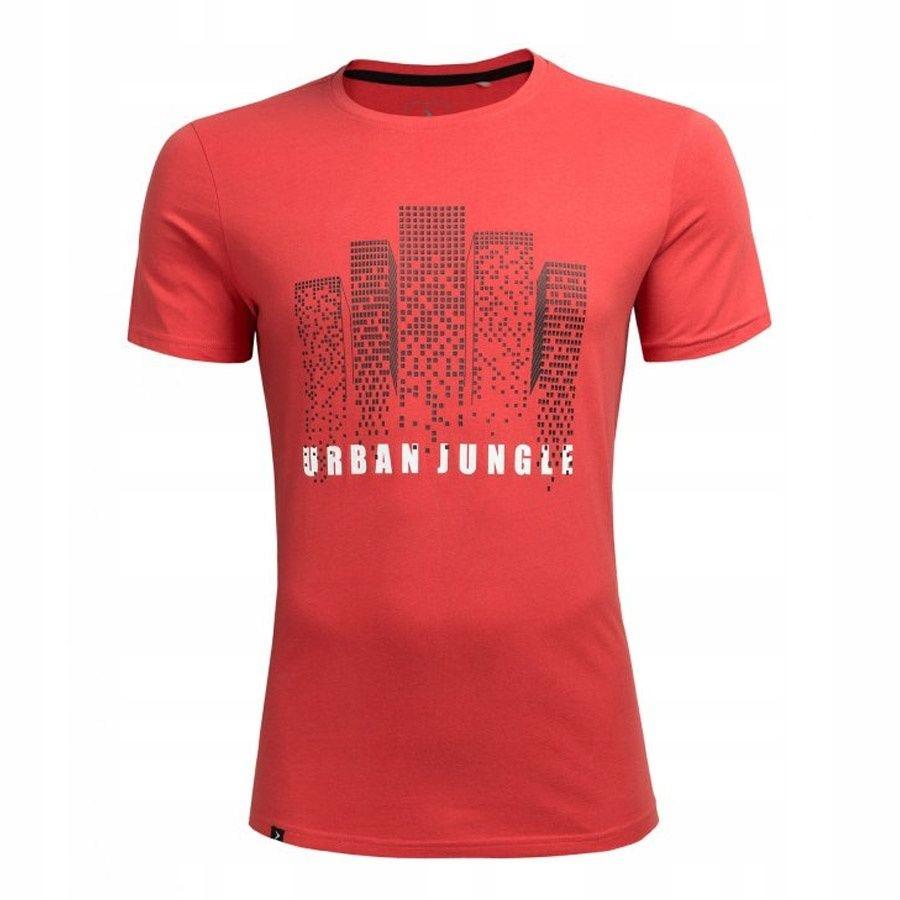 T-Shirt Outhorn HOZ18-TSM612 62S M czerwony