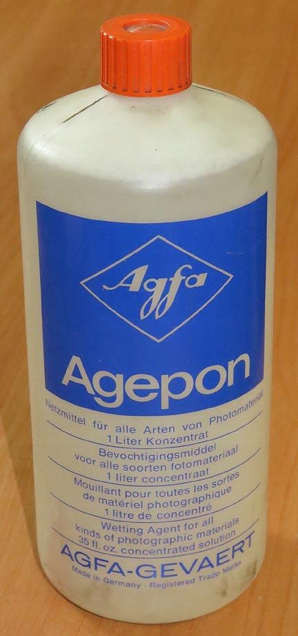 Agepon, AGFA, zwilżacz 1:200, 1 litr, oryginalny