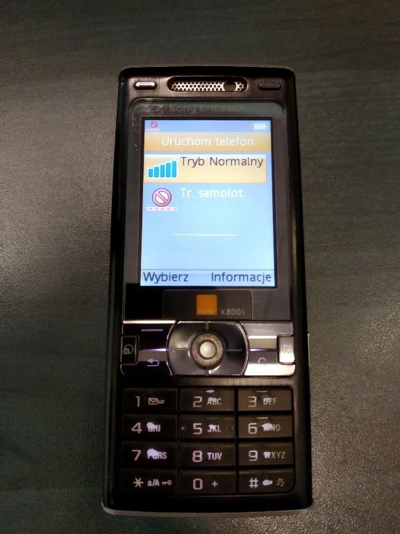 Sony Ericsson K800i [Orange]