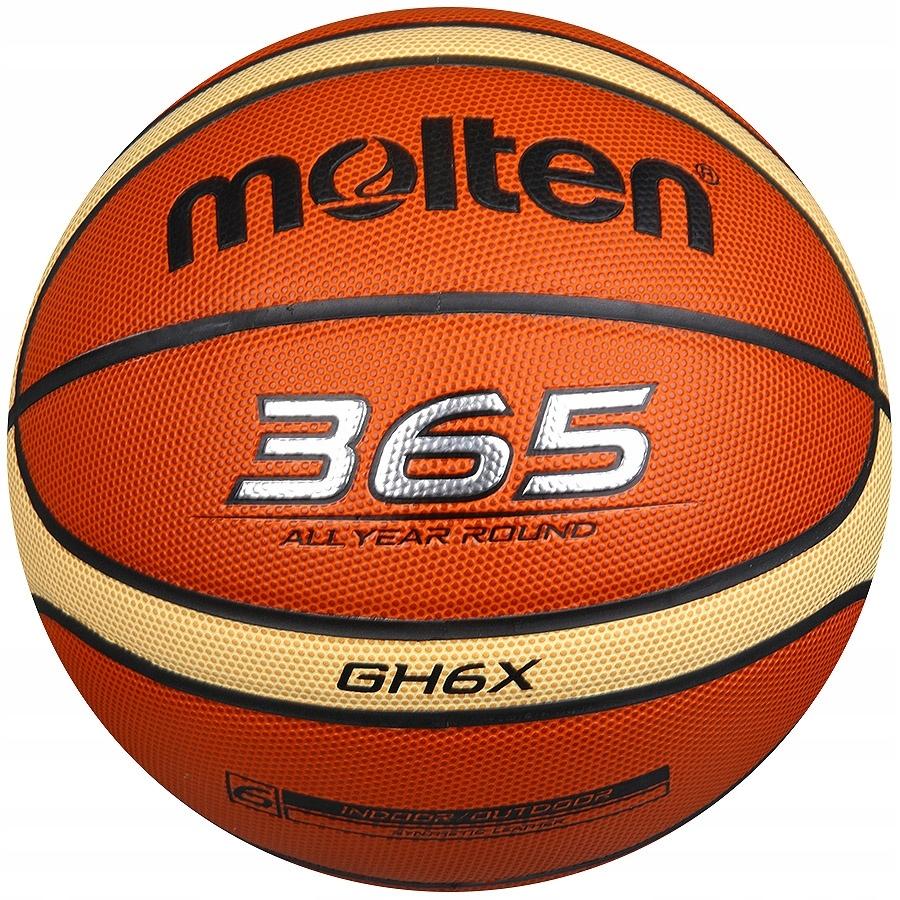 Piłka koszykowa Molten B6GHX 6 brązowy!