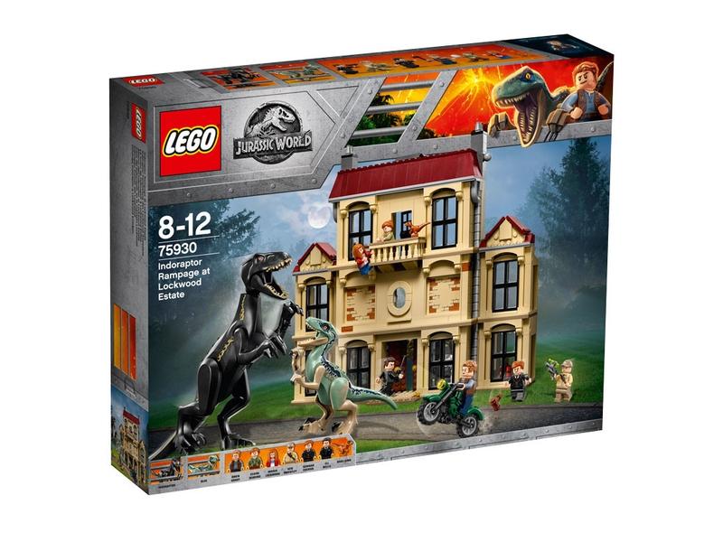LEGO Jurassic World 75930 - Atak indoraptora NOWE
