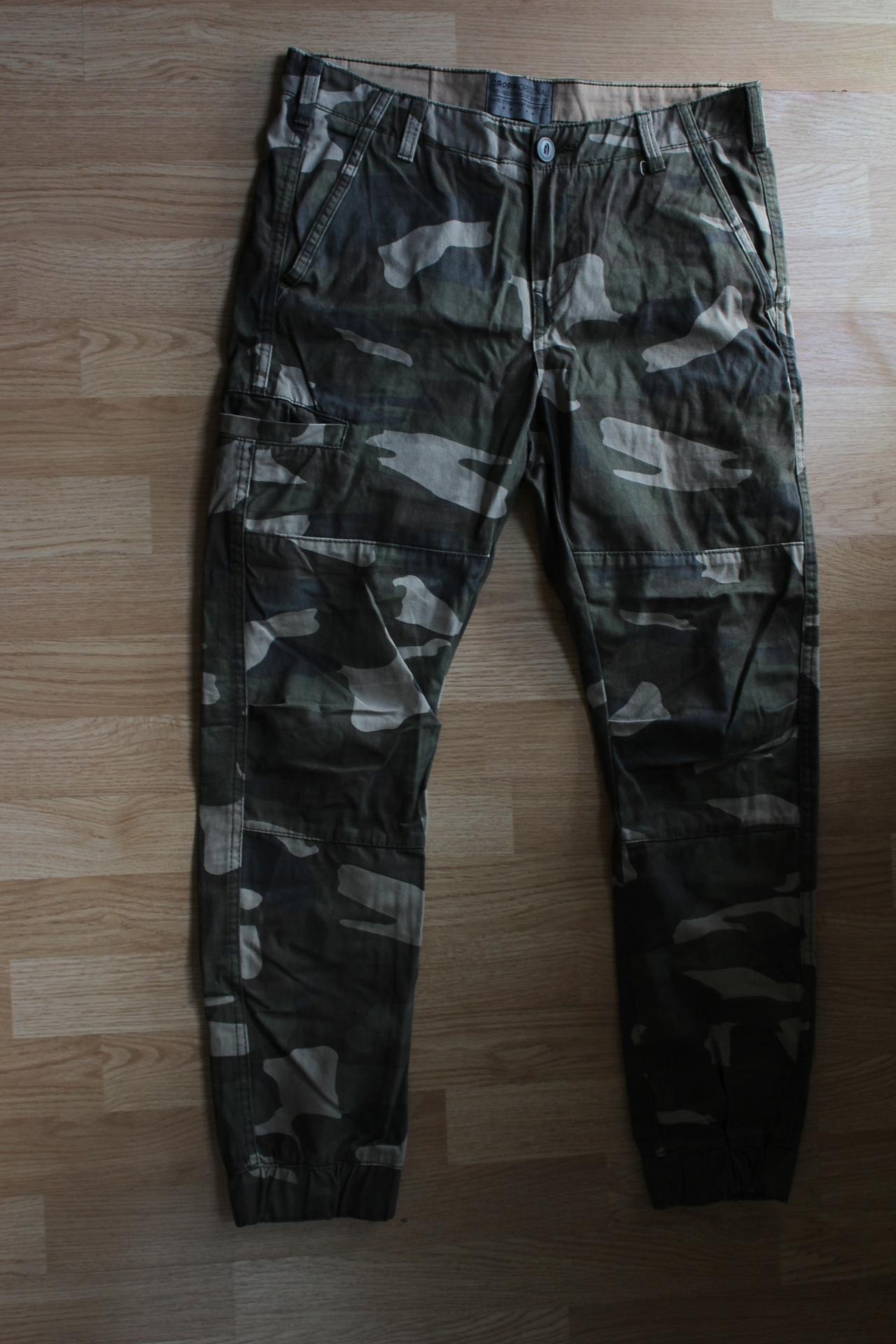 Spodnie Joggery Cropp Roz.30 Moro