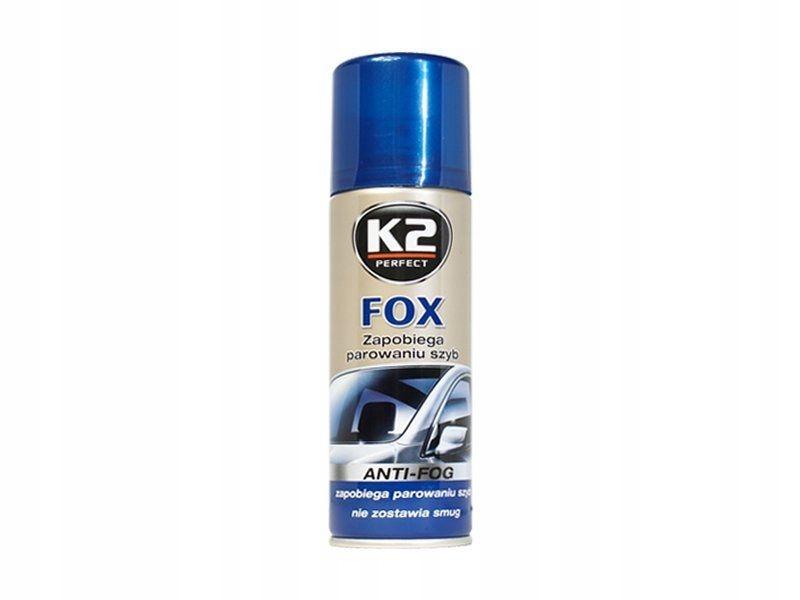K2 Fox 200ml Antypara Zapobiega parowaniu szyb