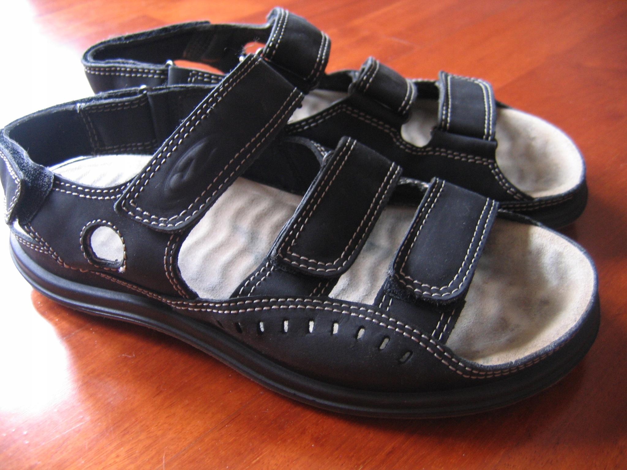 Męskie sandały Ecco r.42