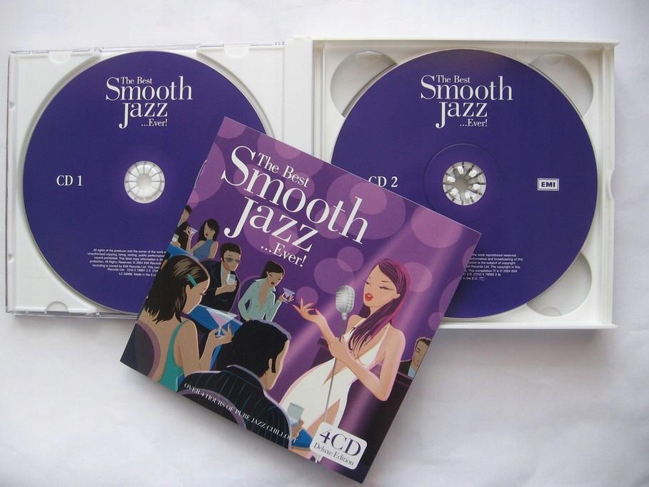 The Best Smooth Jazz... Ever! 4CD Idealny Kraków