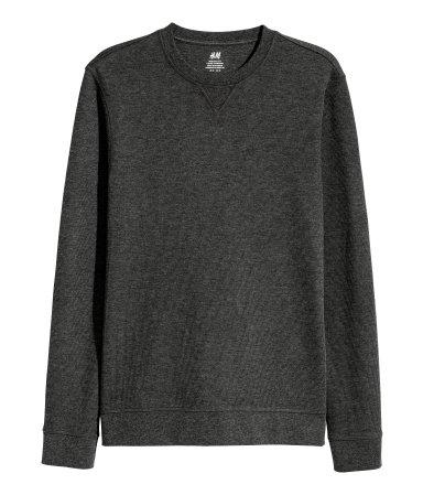 H&M dżersejowa bluza w prążek rozm. S