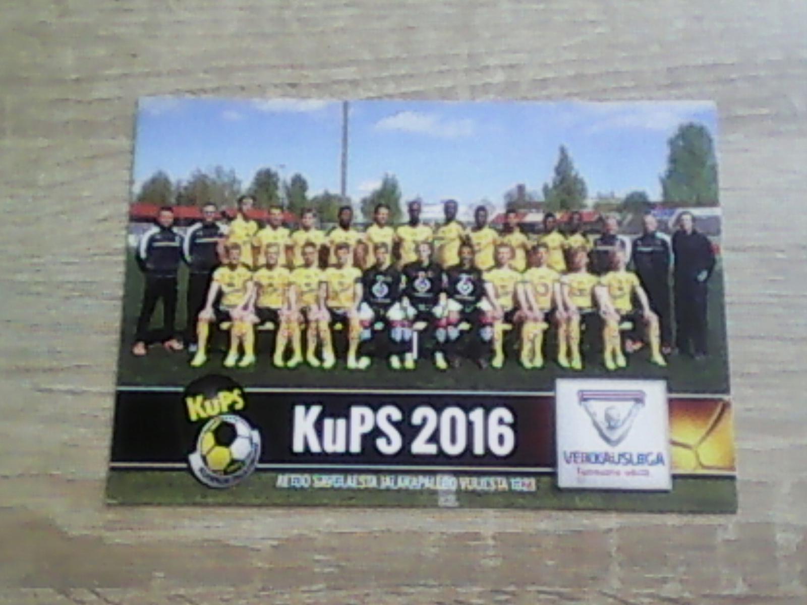 Piłka nożna - fotos zespołu Kuopion Palloseura