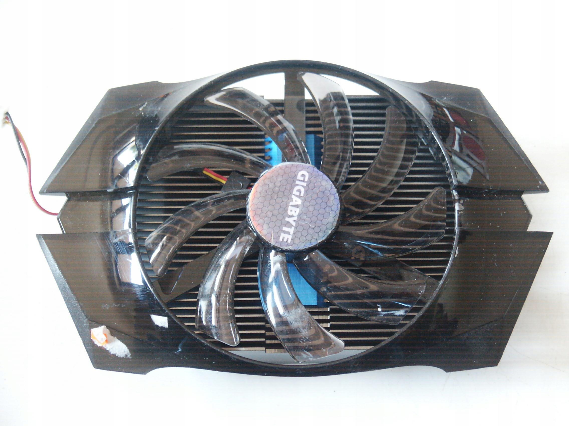 Chłodzenie karty graficznej Gigabyte WindForce P40