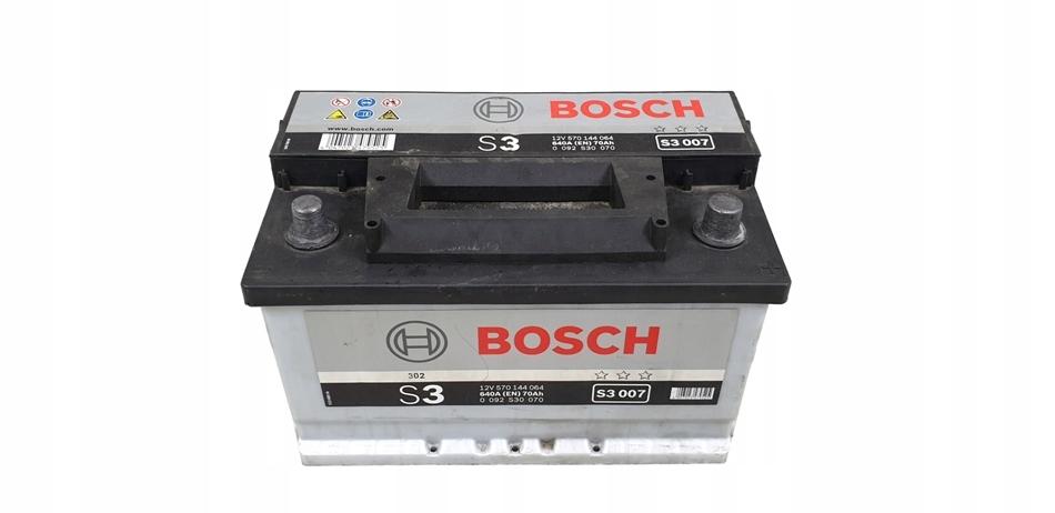 AKUMULATOR BOSCH S3 70Ah 640A