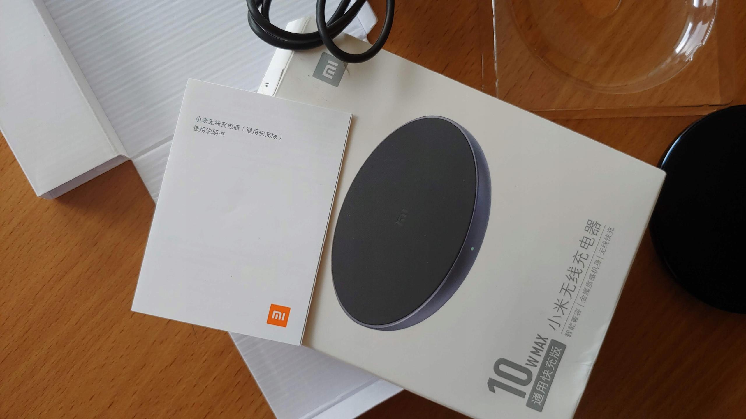 Ładowarka indukcyjna bezprzewodowa Xiaomi 10W