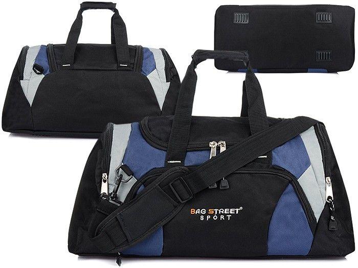 9f6cd6c700f29 Bag Street Torba Sportowa Podróżna bagaż Duża T28 - 7264414279 ...