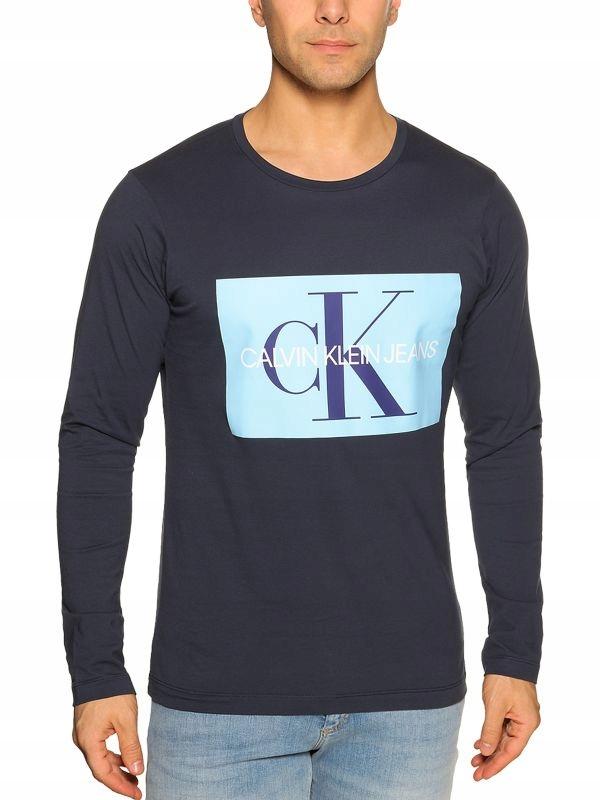 Calvin Klein Longsleeve niebieski L