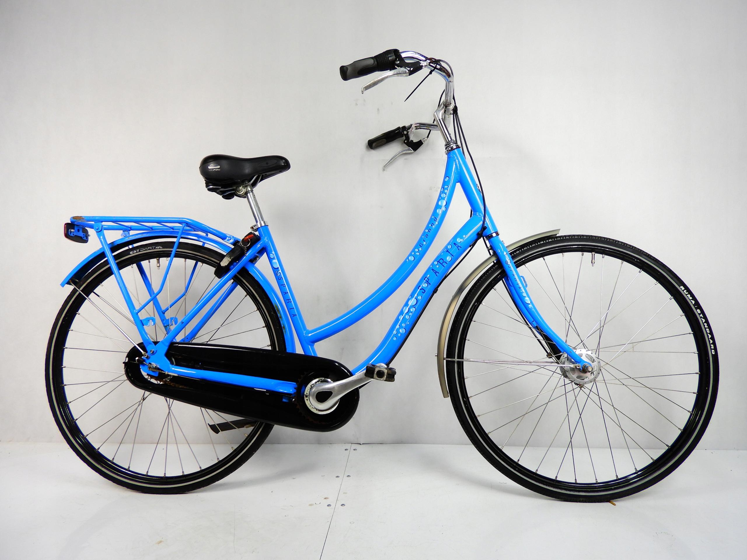 Aluminiowa niebieska damka SPARTA GRANNY 3 biegi !