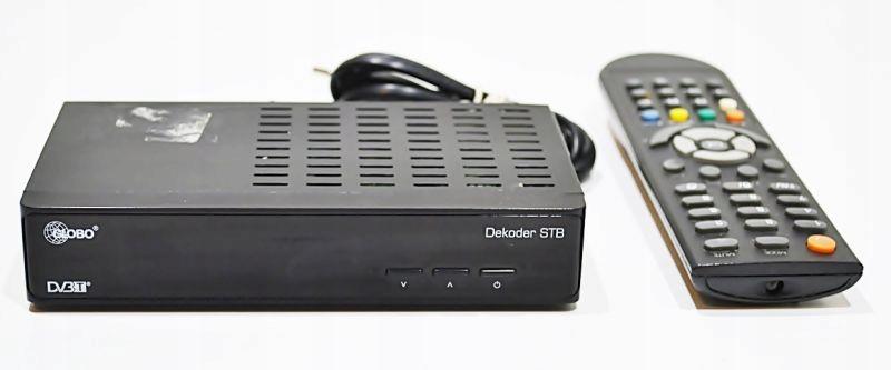 DEKODER DVBT GOBO STB HD N3 + PILOT