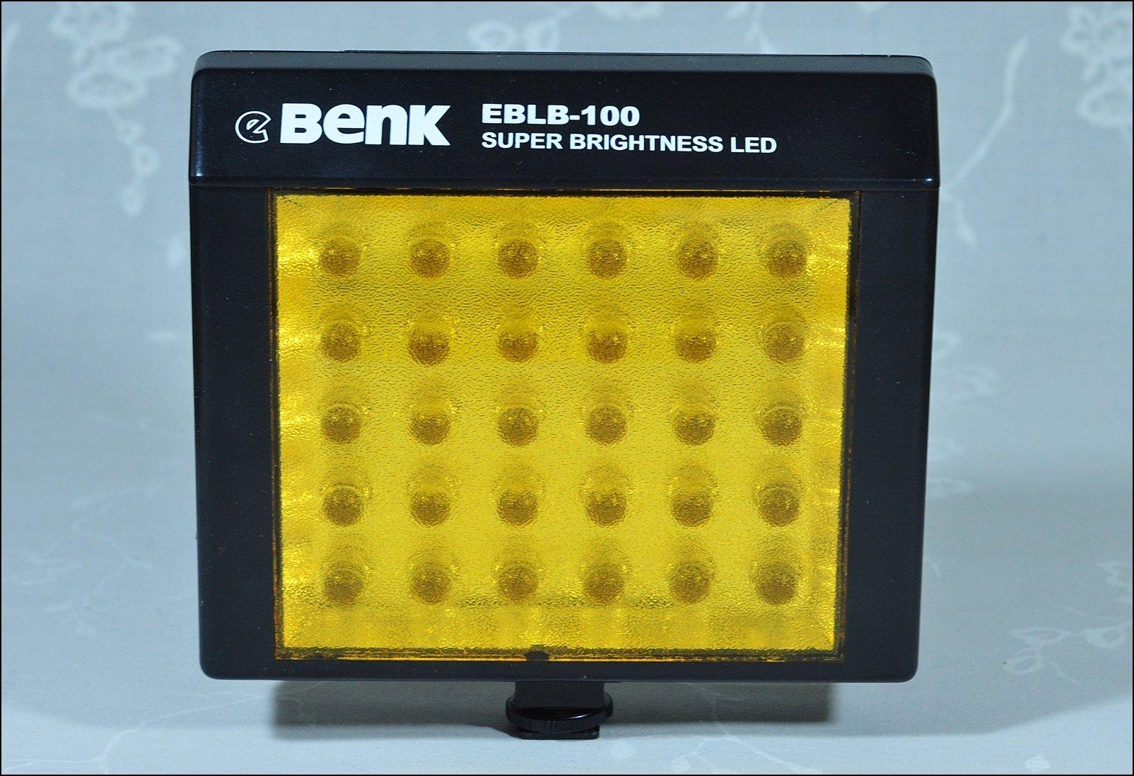 Lampa LED - BENK EBLB-100 - nakamerowa - 30 led.