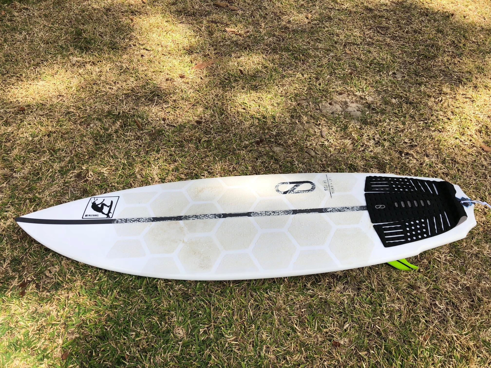 "Deska kite wave / surf Firewire Sci-Fi 5'8"""
