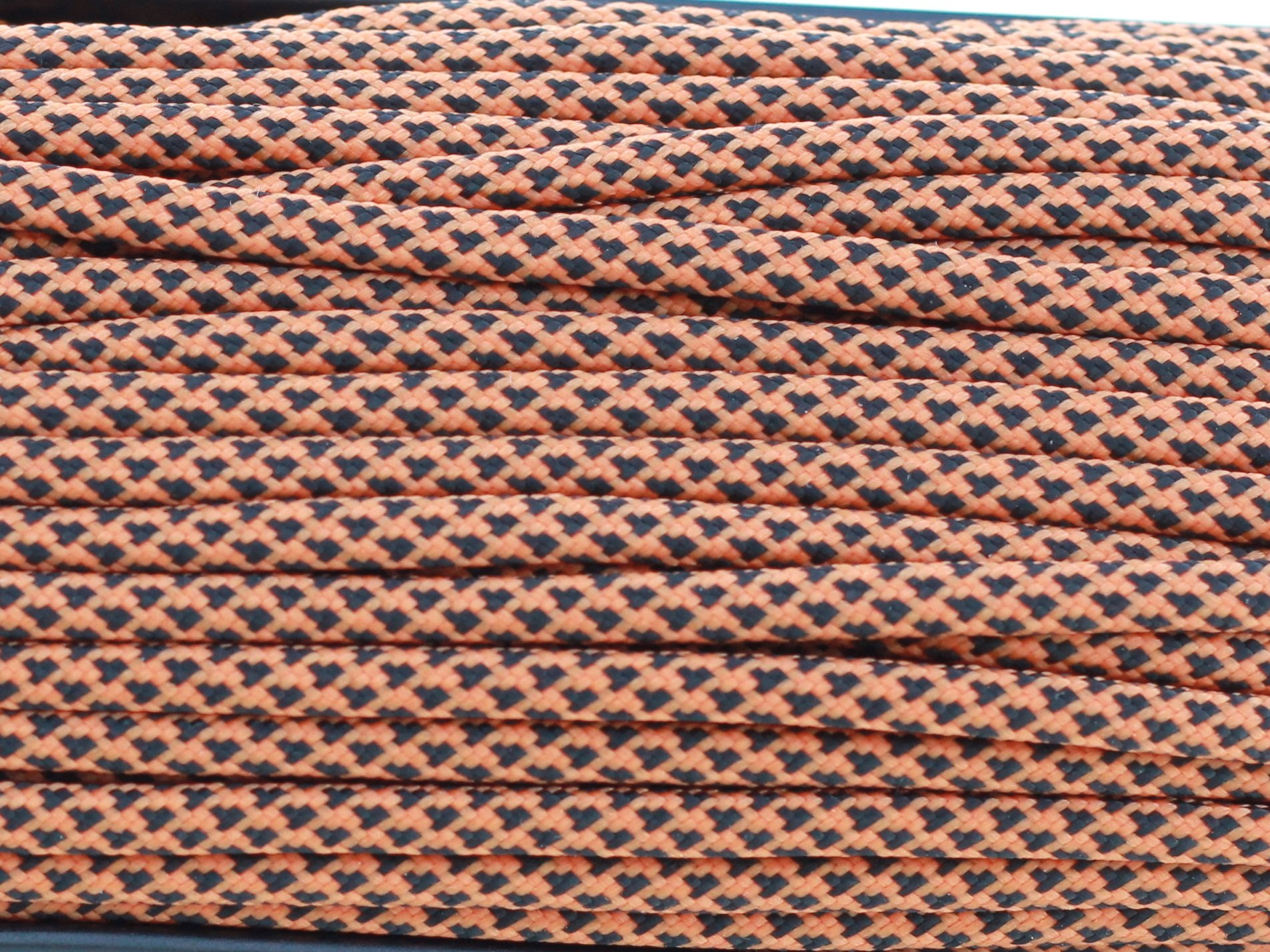 Paracord 550 linka spadochronowa - orange diamond