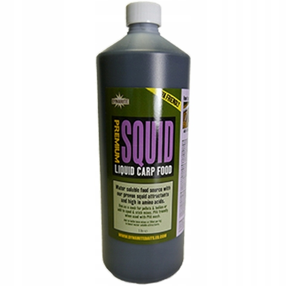 Dynamite Baits Squid Liquid Carp Food 1l Kałamarni