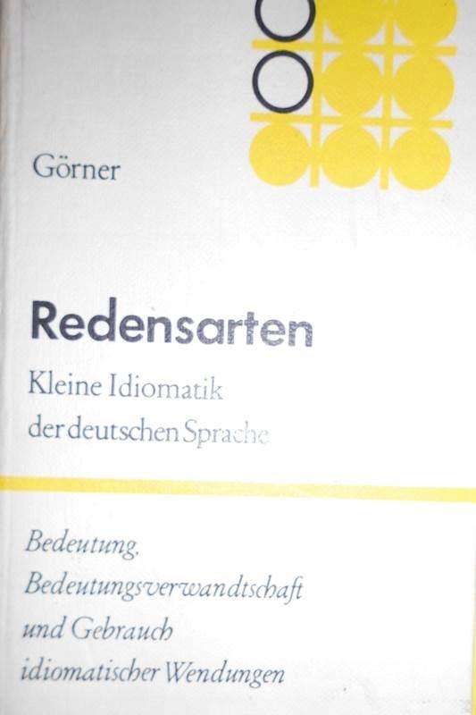 Redensarten - Herbert Gorner1980 24h wys