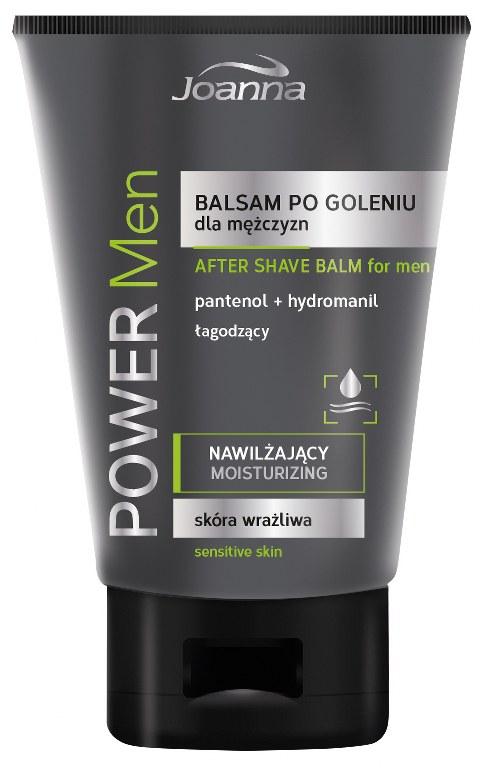 JOANNA POWER MEN Balsam po goleniu skóra wrażliwa
