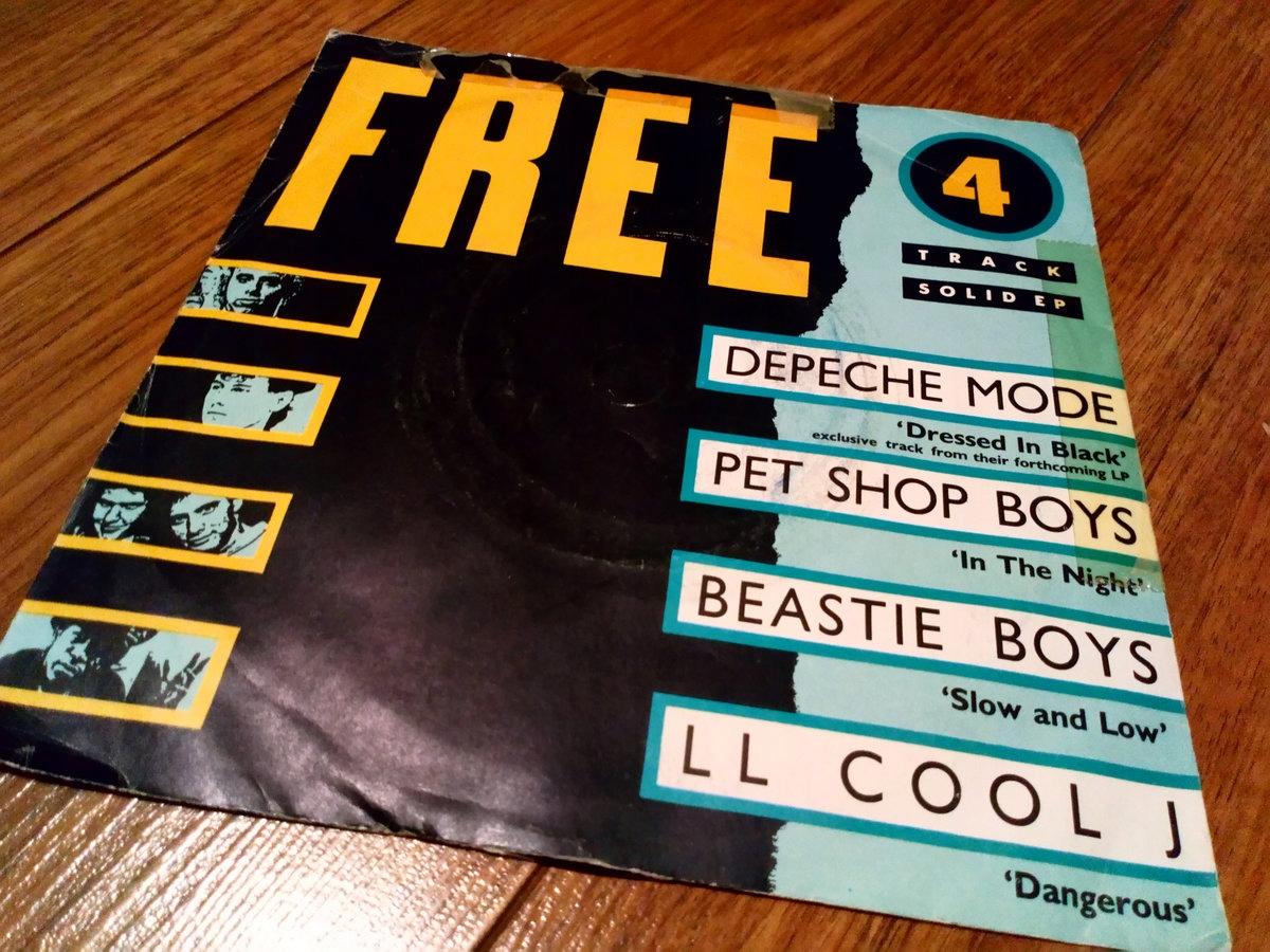 FREE DEPECHE MODE DRESSED IN BLACK PET SHOP BOYS