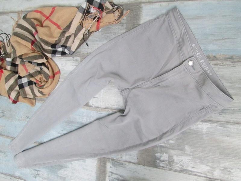 MARKS SPENCER___WYSOKIE jeans rurki HIGH WAIST__40