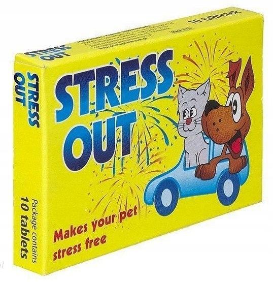 DermaPharm Stress Out dla psa i kota blister 10 ta