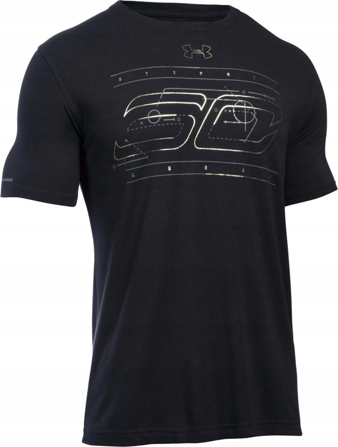 D626 UNDER ARMOUR LOOSE T-SHIRT SPORTOWY L