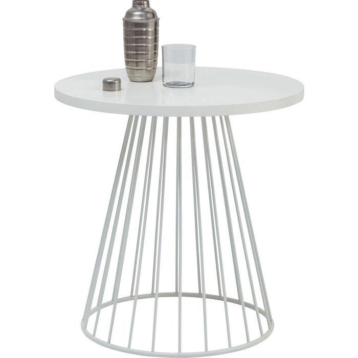 Kare Design Outlet | Outlet Kare Design Stolik Bistro Wire Bialy 7042320131 Oficjalne
