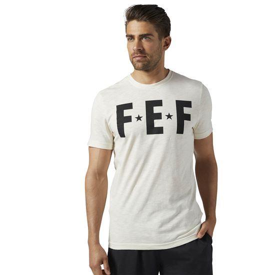 Reebok CrossFit Graphic Koszulka BR0846 Biała r. M