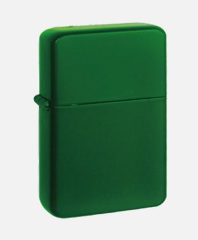 Zapalniczka Green Matt + benzyna ZIPPO + Grawer