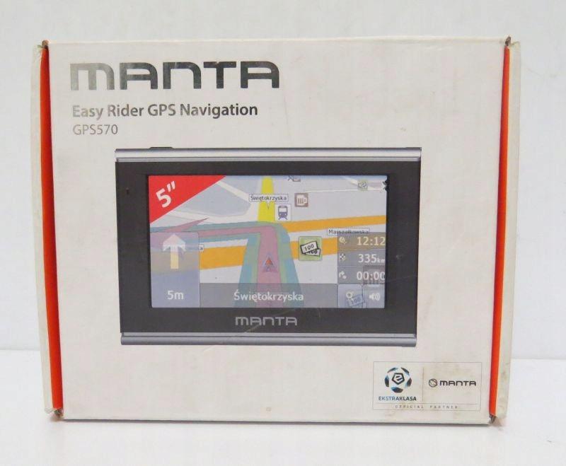 NAWIGACJA MANTA GPS570