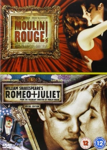 Moulin Rouge and Romeo Juliet Double Pack DVD
