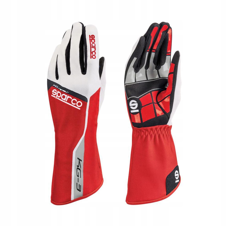Rękawice Sparco Track KG-3 Czerwony 10!