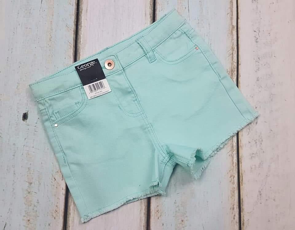 GEORGE spodenki jeans rozm 110-116 cm nowe