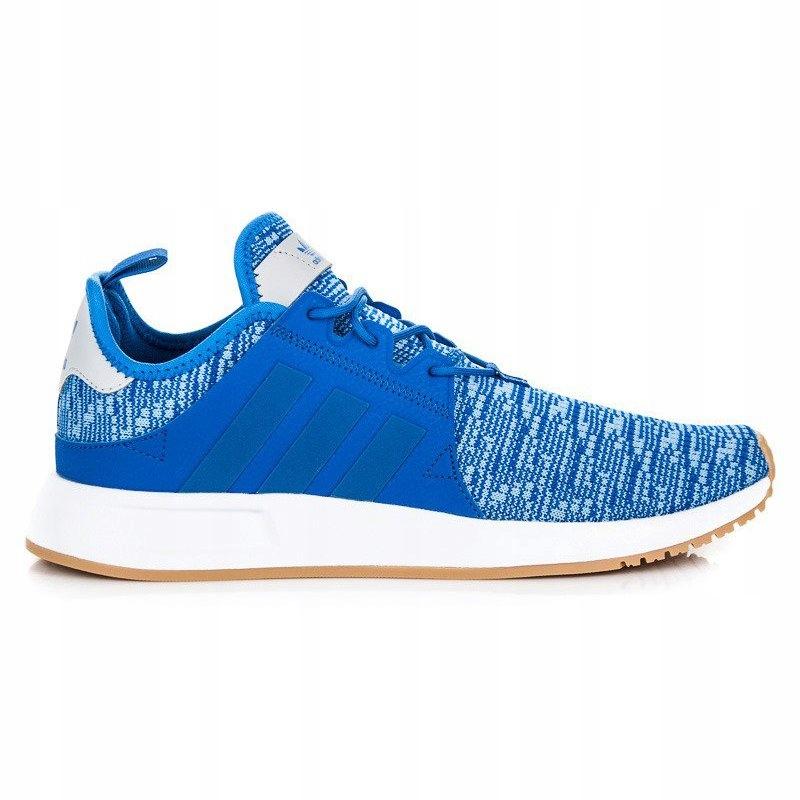 Adidas Sportowe Męskie Niebieskie r.42 7681692084