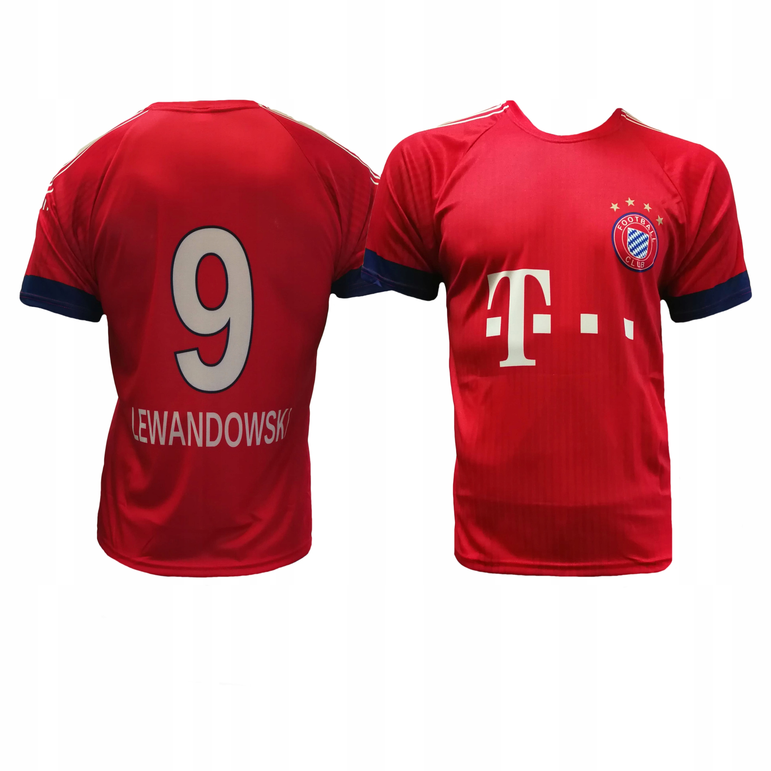 3b40f6f87 Komplet piłkarski Reda Lewandowski Bayern - r140. KOSZULKA LEWANDOWSKI  BAYERN MONACHIUM 116cm i inne
