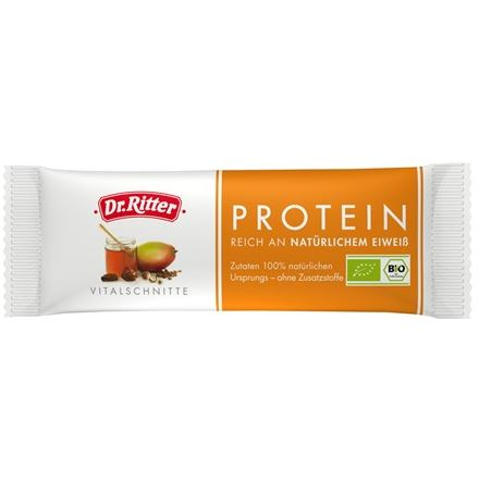 Dr Ritter Baton Energetyczny Protein BIO 40g