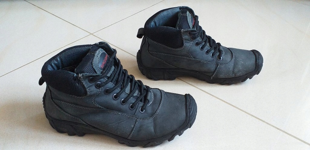BADOXX buty trekkingowe trapery skóra naturalna 38