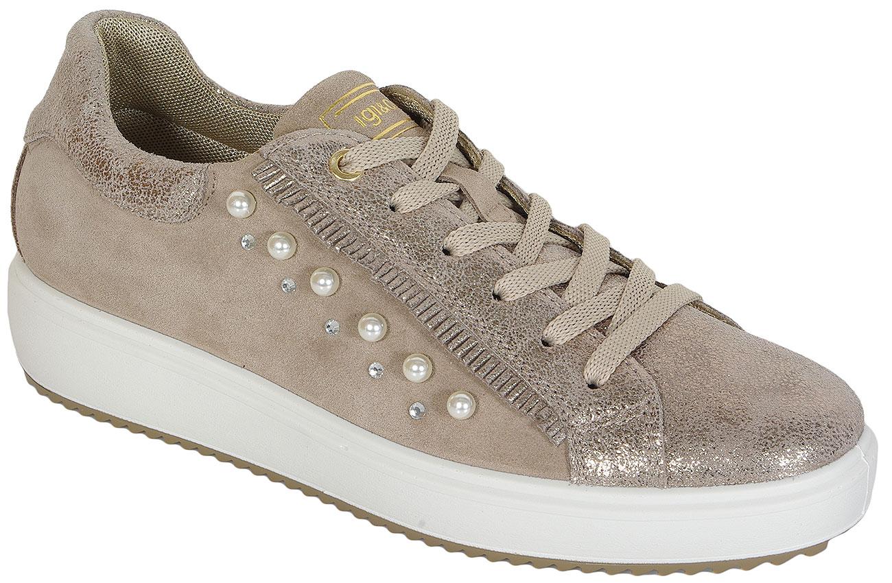 igi&co SALE Athena Scam Taupe sneakers 39