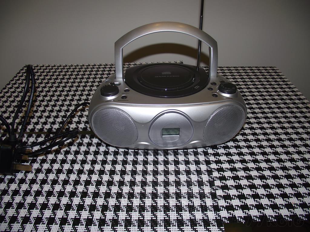 RADIOODTWARZACZ BOOMBOX KW 80 CD(2756)