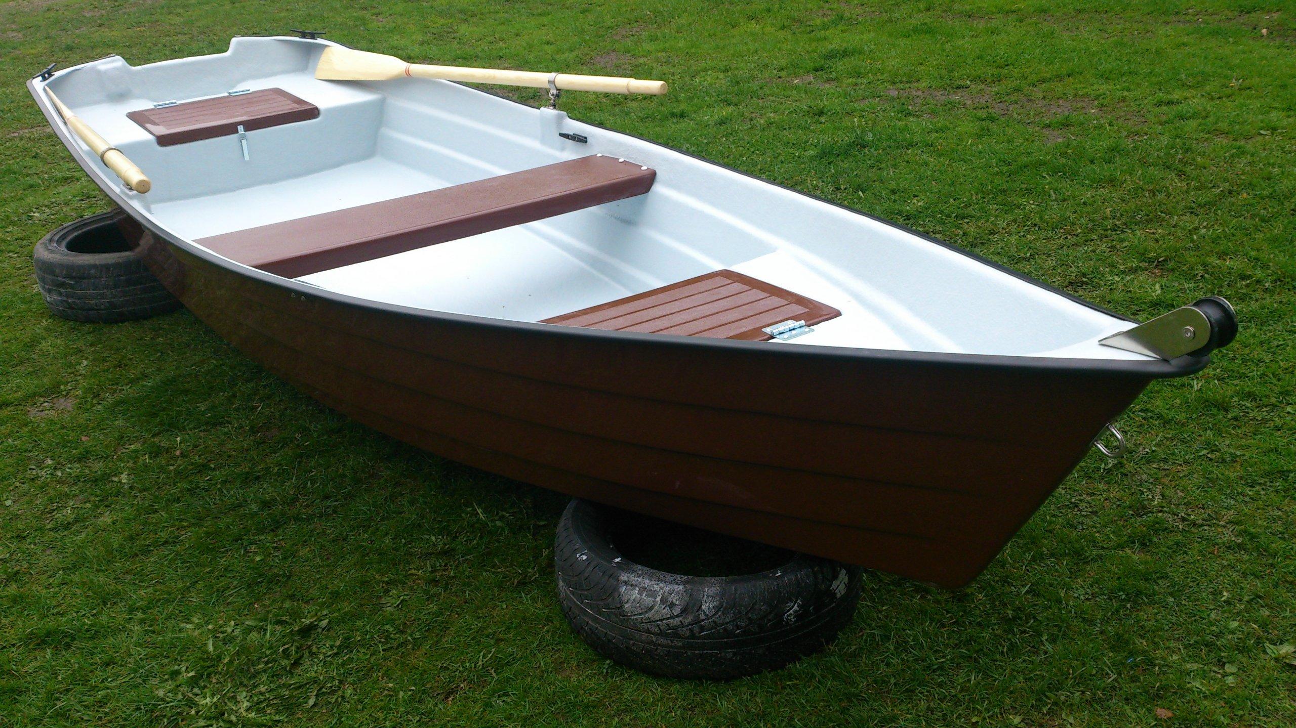 Łódka wędkarska 4.2m nowa łódź wioslowa