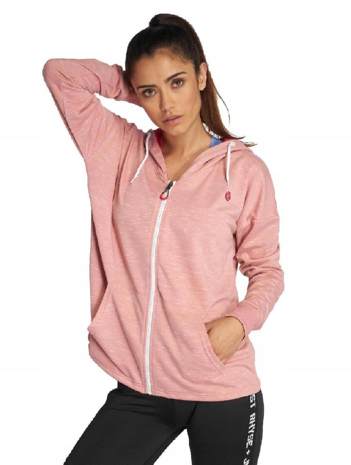 Bluza Zip Just Rhyse Akatore Active różowa M